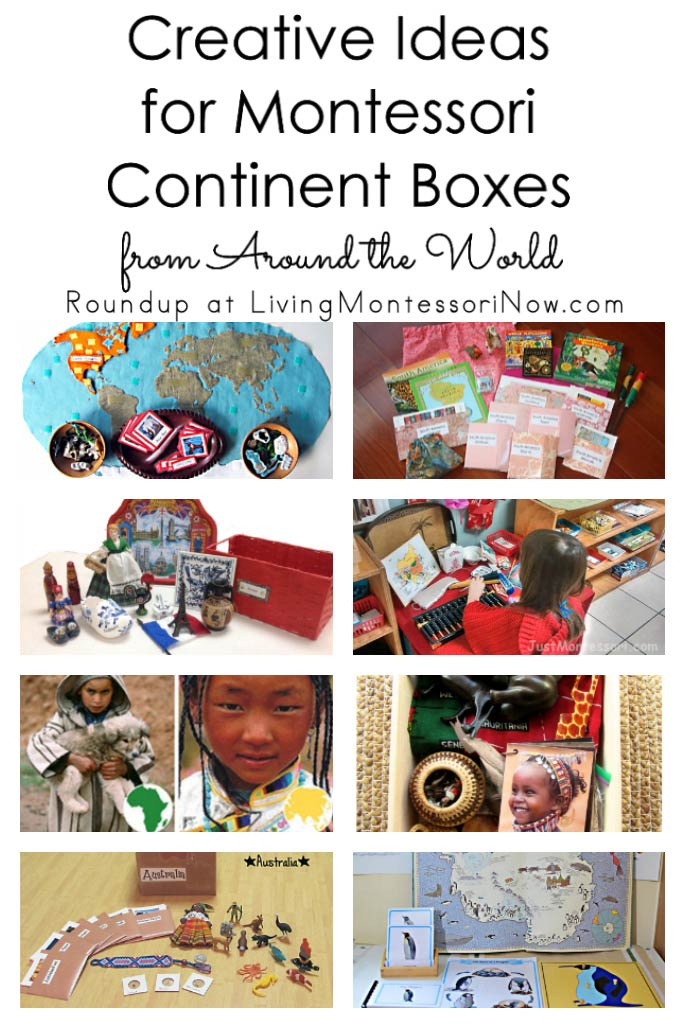 Creative Ideas for Montessori Continent Boxes from Around the World