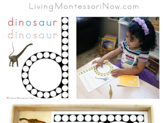 Free Dinosaur Do-a-Dot Printable (Montessori-Inspired Instant Download)