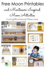 Free Moon Printables and Montessori-Inspired Moon Activities