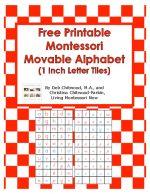 Free Printable Montessori Movable Alphabet (1 Inch Letter Tiles)