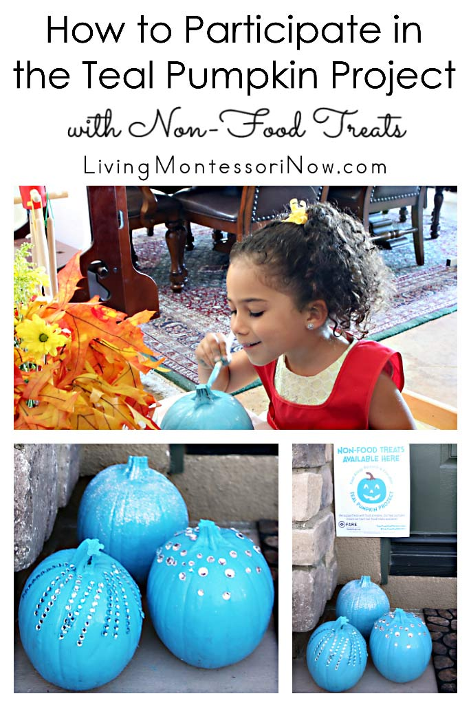 How to Participate in the Teal Pumpkin Project with Non-Food Treats
