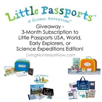 Little Passports 3-Month Subscription Giveaway