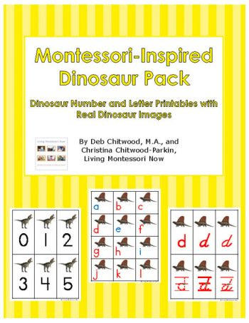 Montessori-Inspired Dinosaur Pack