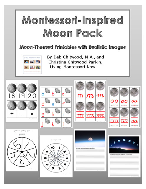 Montessori-Inspired Moon Pack
