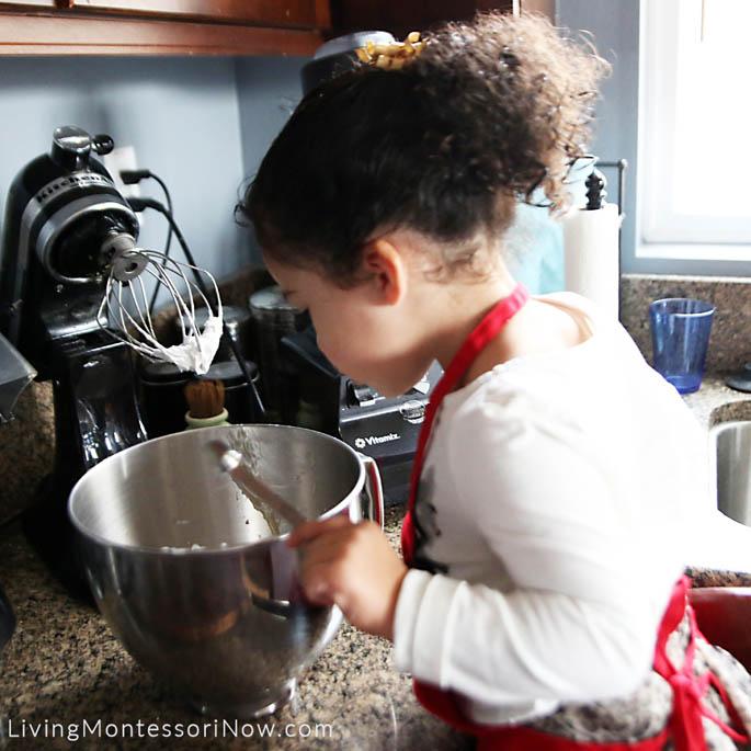 Adding Vanilla to the Coconut Whipped Cream