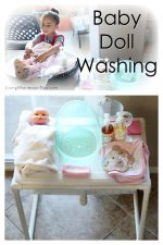 Baby Doll Washing: Practical Life for Toddlers and Preschoolers