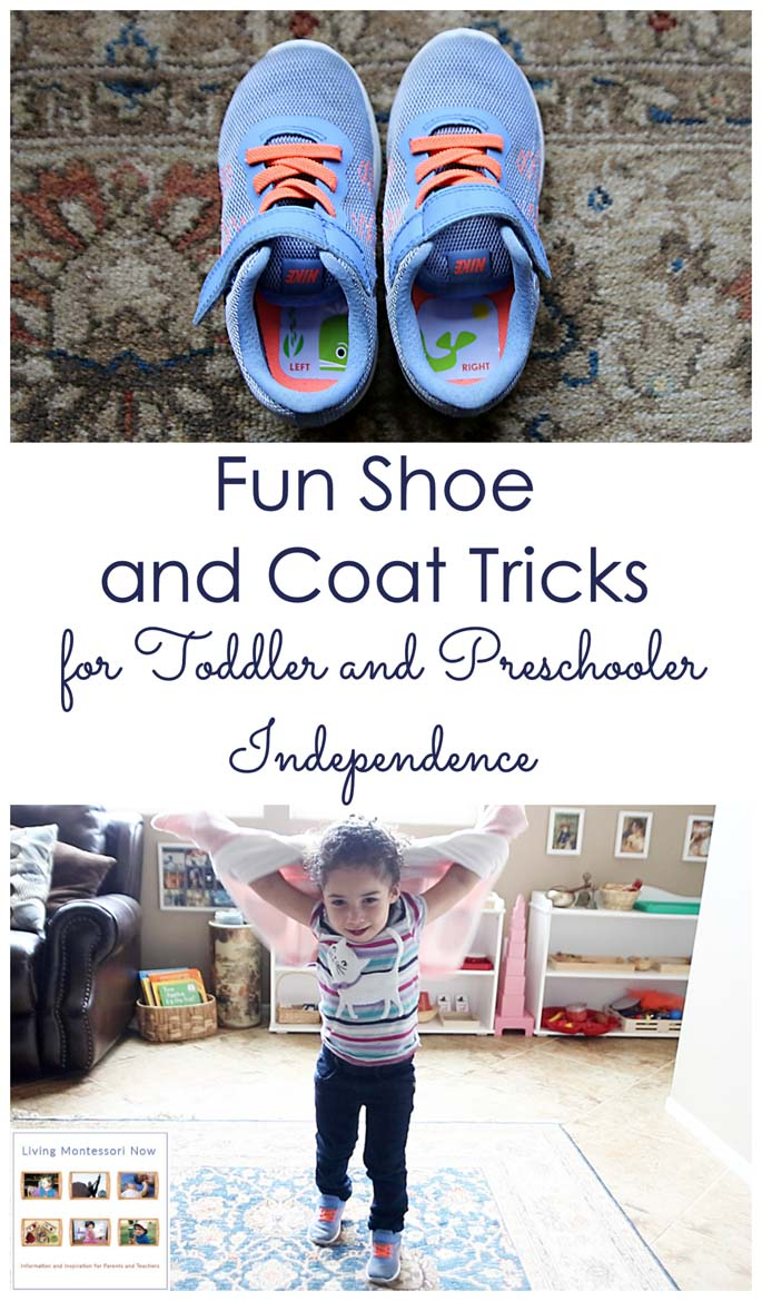 Fun Shoe and Coat Tricks for Toddler and Preschooler Independence
