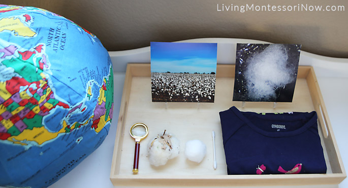 Geography, Science, and Sensory Cotton Activities for Preschoolers