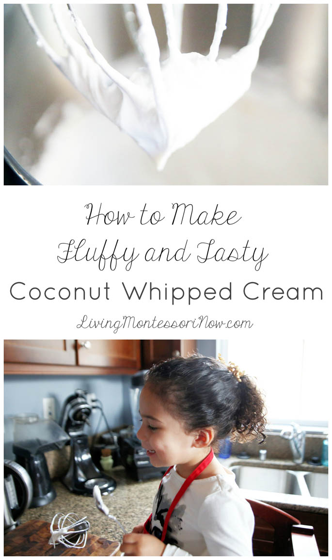 How to Make Fluffy and Tasty Coconut Whipped Cream