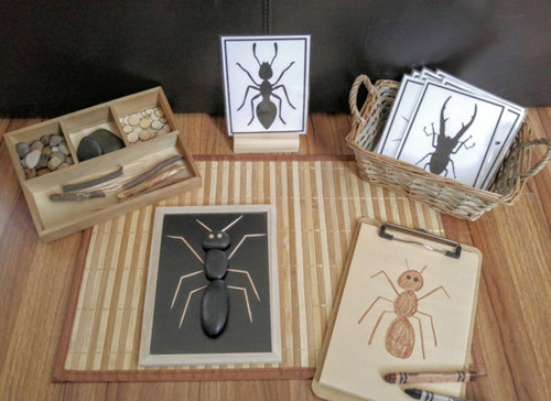 Loose Parts Insect-Bug Exploration from BusyMamaBusyBags on Etsy