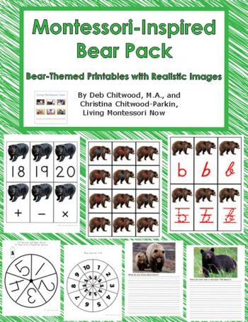 Montessori-Inspired Bear Pack