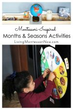 Montessori-Inspired Months and Seasons Activities for Hands-on Learning