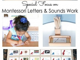 Special Focus on Montessori Letters and Sounds Work in Manuscript or Cursive