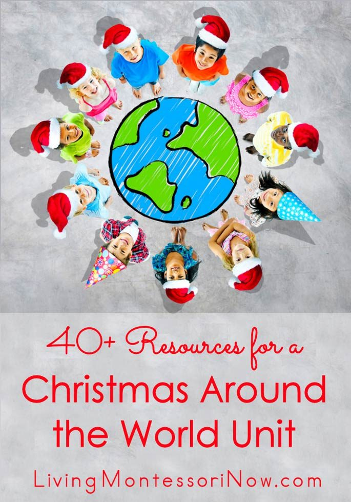 40+ Free Resources for a Christmas Around the World Unit