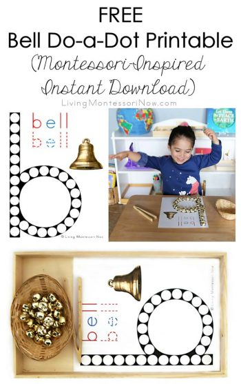 Free Bell Do-a-Dot Printable