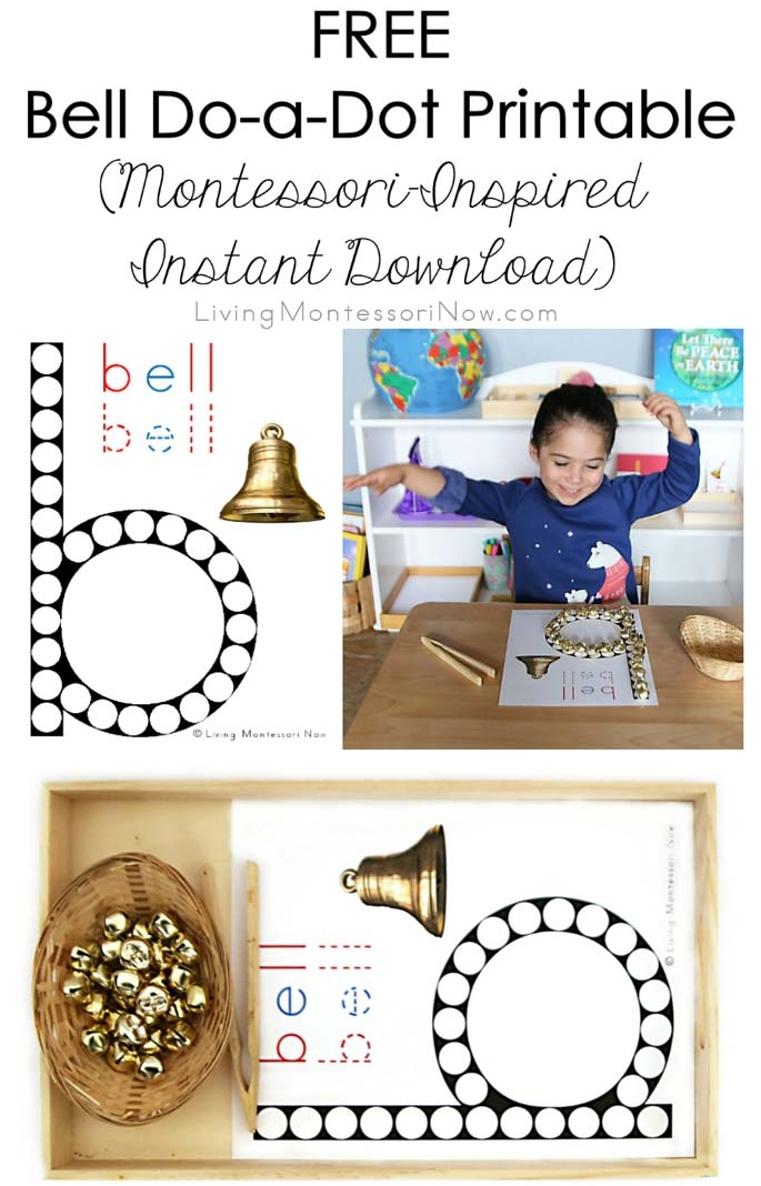 Free Bell Do-a-Dot Printable (Montessori-Inspired Instant Download)