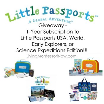 Little Passports Giveaway - 1 Year Subscription!