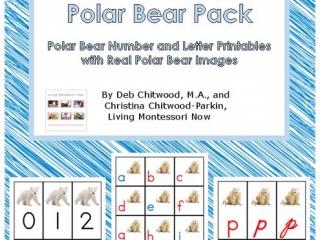 Montessori-Inspired Polar Bear Pack