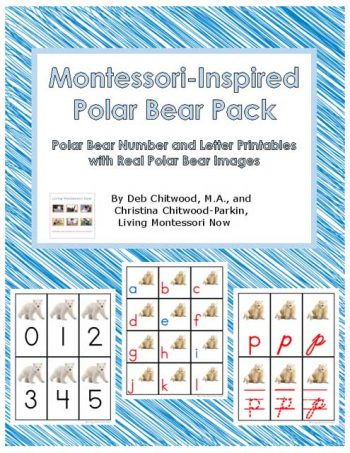 Montessori-Inspired Polar Bear Pack