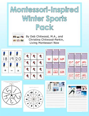 Montessori-Inspired Winter Sports Packs