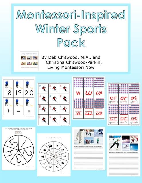 Montessori-Inspired Winter Sports Pack