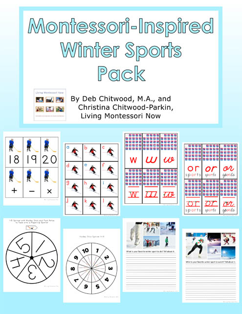 Montessori-Inspired Winter Sports Pack