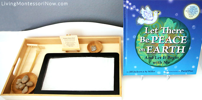 Montessori Peace Tray with Peace Book