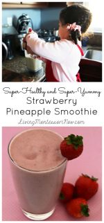 Super-Healthy and Super-Yummy Strawberry Pineapple Smoothie