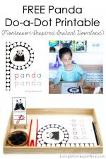 FREE Panda Do-a-Dot Printable (Montessori-Inspired Instant Download)