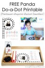 FREE Panda Do-a-Dot Printable (Montessori-Inspired Instant Download)