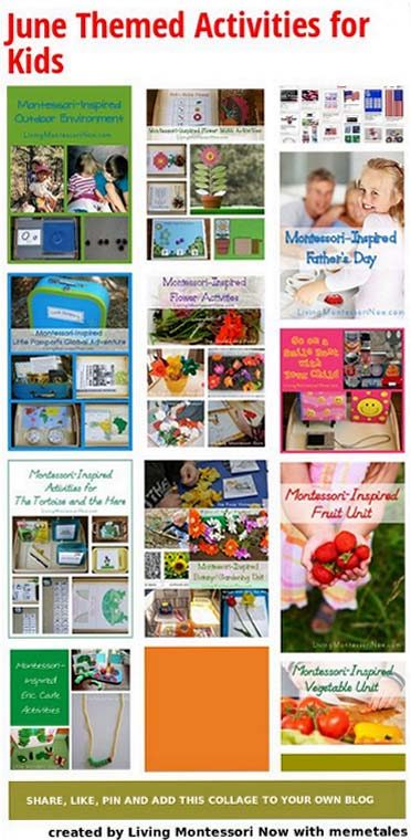June Themed Activities for Kids