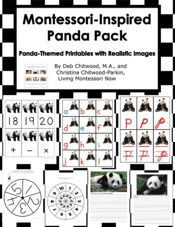 Montessori-Inspired Panda Pack
