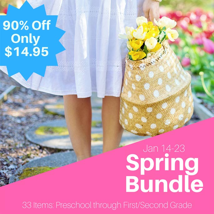 The Ultimate Spring Bundle 90% off until January 23, 2018