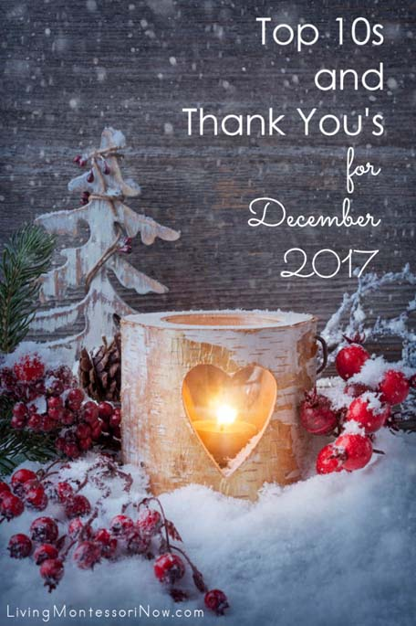 Top 10s and Thank You's for December 2017