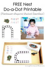 FREE Nest Do-a-Dot Printable (Montessori-Inspired Instant Download)