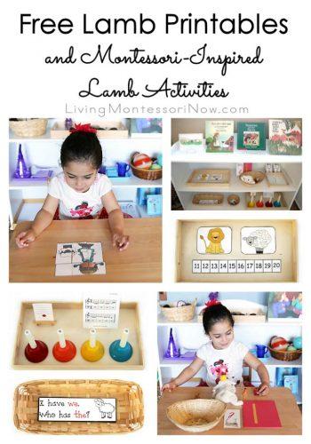 Free Lamb Printables and Montessori-Inspired Lamb Activities