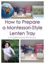 How to Prepare a Montessori-Style Lenten Tray