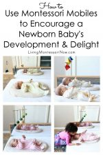 How to Use Montessori Mobiles to Encourage a Newborn Baby's Development and Delight