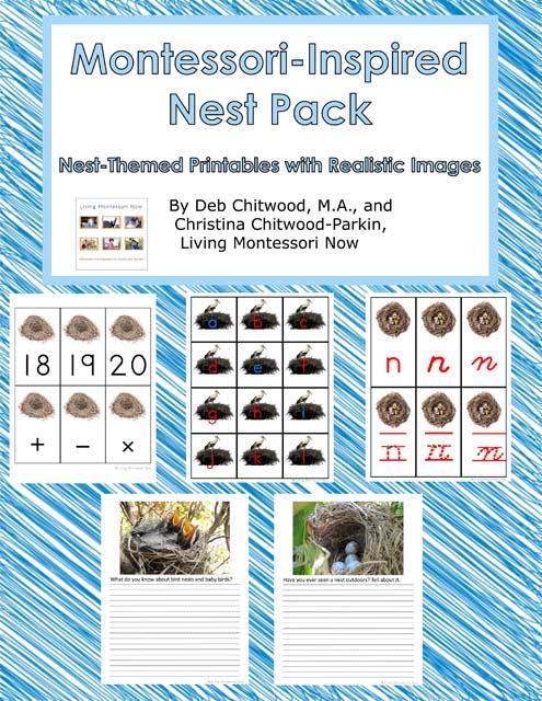 Montessori-Inspired Nest Pack