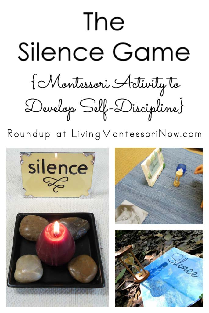 The Silence Game {Montessori Activity to Develop Self-Discipline}