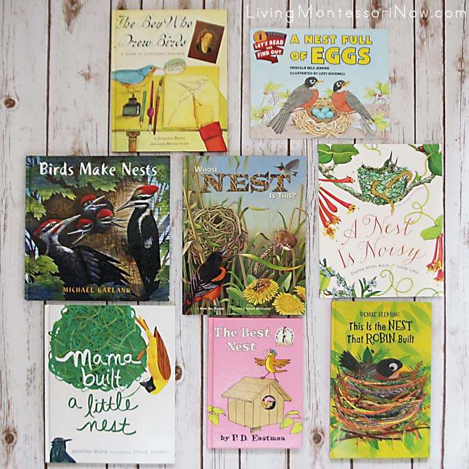 Books for a Nest Theme
