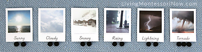 Counting Syllables of Weather Words