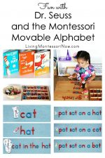 Fun with Dr. Seuss and the Montessori Movable Alphabet