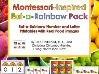 Montessori-Inspired Eat-a-Rainbow Pack