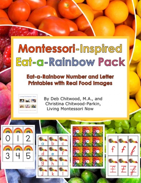 Montessori-Inspired Eat-a-Rainbow Pack
