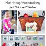 Montessori Inspired Farm Animal Matching Vocabulary For Babies And
