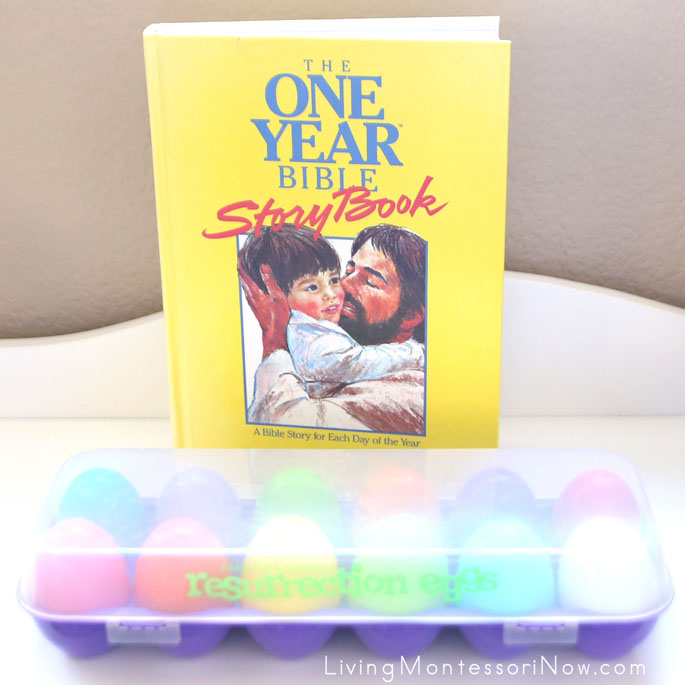 Resurrection Eggs with The One Year Bible Story Book