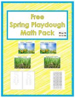 Free Spring Playdough Math Pack (Montessori-Inspired Instant Download) – Montessori Monday