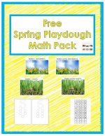 Free Spring Playdough Math Pack (Montessori-Inspired Instant Download) – Montessori Monday