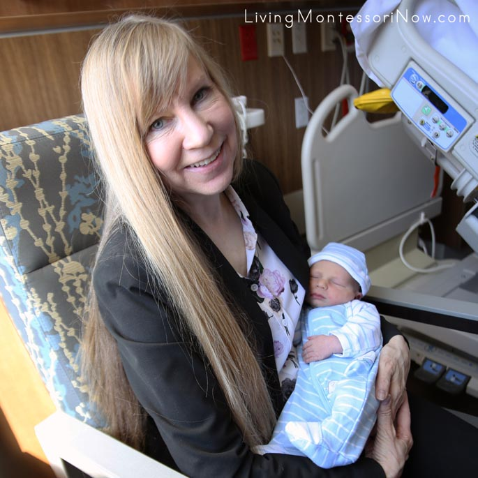 Visiting My New Grandson in the Hospital